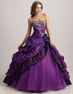 Trendy Ideas For Wedding Purple Dress Ball Gowns Puffy Dresses, Sweet 16 Dresses, 15 Dresses, Ball Dresses, Pretty Dresses, Ball Gowns, Purple Quinceanera Dresses, Purple Gowns, Purple Bridesmaid Dresses
