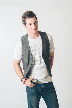 Guy's Signature Tee from t-615. Fashion styling by Hilary Walker.