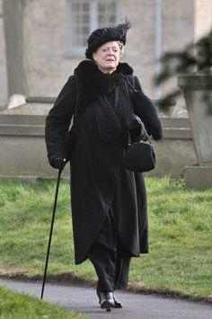 'Downton Abbey' Pics — Matthew Crawley's Funeral
