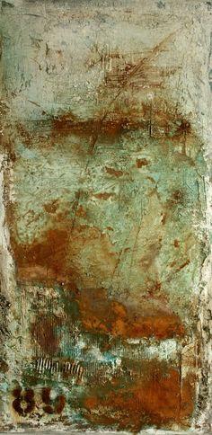 Mischtechnik auf Leinwand 50x100x4 cm Ostsee-Galerie Timmendorfer Strand  -verkauft-