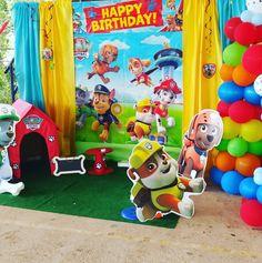 Paw Patrol Birthday Paw Paw, Paw Patrol Birthday, Decoration Party
