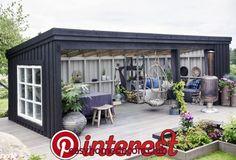 Pergola With Retractable Canopy Info: 4711907358 Backyard Sheds, Backyard Patio Designs, Backyard Retreat, Backyard Landscaping, Outdoor Areas, Outdoor Rooms, Outdoor Living, Outdoor Decor, Design Jardin