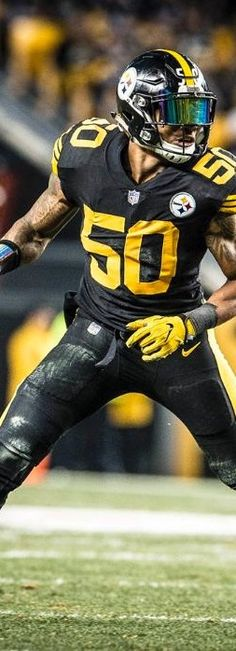 ryan shazier color rush jersey