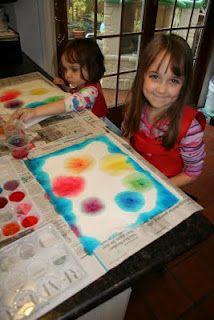 Paper Towel Color Wheel Color Wheel Rainbow Activities