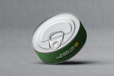 Short Tin Can Mock-Up by MassDream