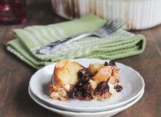 Chocolate Cinnamon Bread Pudding @diethood