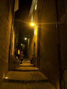 La scalinata di via Filippo Turati 87 per la notte dei musei