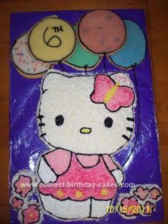 Plumeria Cake Studio Hello Kitty Birthday Cake Hannahs