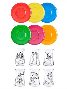 Behiç Ak tea glasses set - Paşabahçe glassware