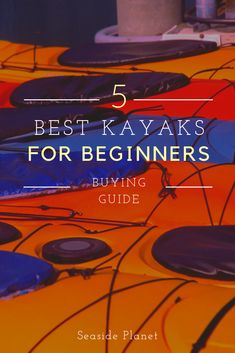 Are you wondering what are the best kayaks for beginners? We\'ve got you covered with the top 5 choi Kayak Camping, Canoe And Kayak, Kayak Fishing, Slingshot Fishing, Fishing Pliers, Camping List, Saltwater Fishing, Fishing Boats, Used Kayaks