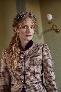 Uhren & Schmuck Blaue Samt Haarspange Blau Neu Silber Farben Zierde Always Buy Good Modeschmuck