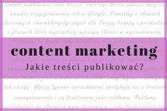 Jakie treści publikować na Facebooku? - content marketing.