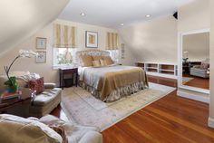 Charming master bedroom. San Francisco, Ca. Photo by Reflex Imaging.