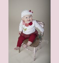 9 Month Girl, sproutingheartsphotography.com