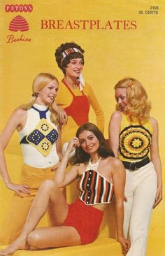 pirate treasure — superseventies: Crochet and knit fashions,...