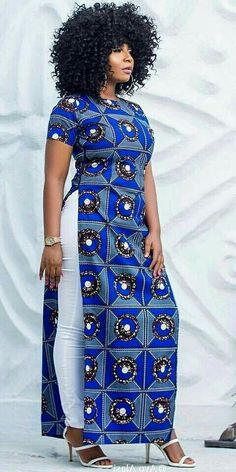 Statement African Print fashion dresses for women African Fashion Ankara, African Inspired Fashion, Latest African Fashion Dresses, African Dresses For Women, African Print Dresses, African Print Fashion, Africa Fashion, African Attire, African Wear