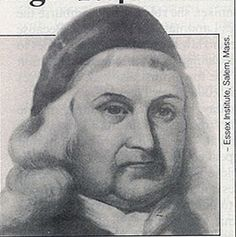 """The Hanging Judge"" Samuel Sewall Regretted his part in the Salem Witch Trials, as 11 of his 14 children died, he believed as a result of Divine Retribution. .... story"
