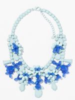 16 Candy-Colored Necklaces For Spring #refinery29  http://www.refinery29.com/statement-jewelry#slide-8  Fanaberie Pastel Floral Necklace, $22, available at Shoptiques.