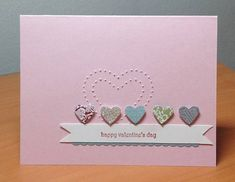 Twitterpated Valentine by MaryLisaK - Cards and Paper Crafts at Splitcoaststampers