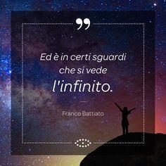 """L'aforisma di oggi porta la firma autorevole del cantautore Franco Battiato ed è tratto dalla canzone """"""""Tutto l'universo obbedisce all'amore"""""""". #aforismi #sogno #francobattiato #battiato #infinito #musica #musicaitaliana #frasi #aforisma #salmoiraghieviganò #salmoiraghi #occhi #eyes #sguardo #instagood #instadaily #picoftheday"""