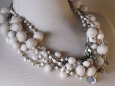 felted jewelry by Modern Fiber Lab | Felt Jewelry | Pinterest