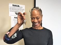 """With an incredible 1.875% rate through the #NACAPurchase Program, Ms. Walker is a #Newark area homeowner! """"I like the counseling and community involvement. I am very excited about having a place I can call my own."""" And she pays $200 less than rent! #AmericanDream #NACAPurchase"""