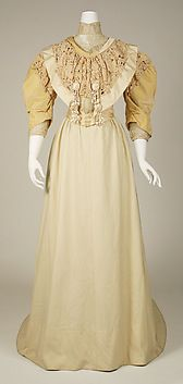 Collection | The Metropolitan Museum of Art...Dress  House of Paquin (French, 1891–1956)  Date: 1890s