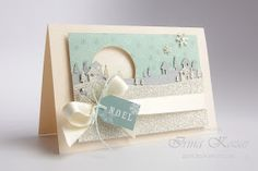 Stampin' with Irina: Country Landscape Christmas Card