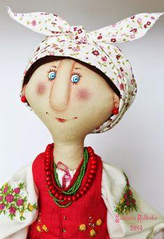 Жили были куклы веселушки Светланы Кулибабы : Солоха
