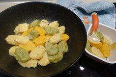 Gnocchi du potager et tomme au foin Gnocchi, Sausage, Meat, Hay, Gourd, Sprouts, Backyard Farming, Food, Atelier