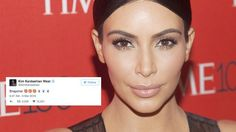 Kim Kardashian is now on Snapchat and she's mastered the pen tool
