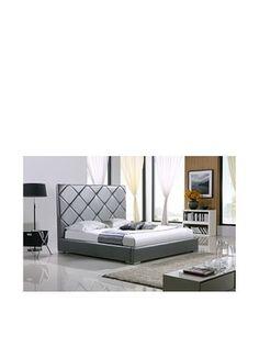 Casabianca Furniture Verona Bed (Grey)