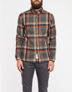 Native Youth / Maxi Check Herringbone Shirt