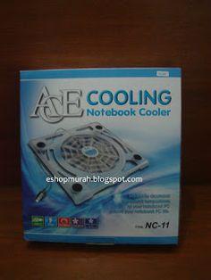 Notebook Cooling Pad Single Fan ACE