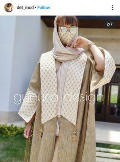 Modesty Fashion, Abaya Fashion, Muslim Fashion, Suit Fashion, Fashion Dresses, Stylish Clothes For Women, Stylish Outfits, Abaya Pattern, Mode Abaya