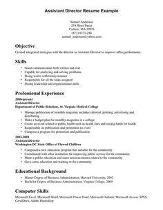 medical school resume template
