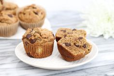 Chocolate Banana Muffins Recipe http://www.draxe.com #health #holistic #natural