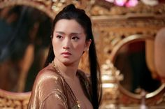 Gong Li in Curse of the Golden Flower directed by Zhang Yimou, 2006