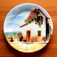 Ceramic tableware dish provins decoration plate fruit plate western dish d(China…