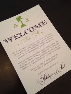 Welcome letter wedding welcome letter hotel welcome letter hotel welcome bag letters for out of town by primroseandpark spiritdancerdesigns Choice Image