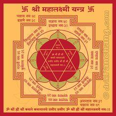 Maha Lakshmi Yantra