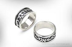 Silver Jewelry Judaica Ring 925 Sterling 1pc by RAFAELJEWELRY