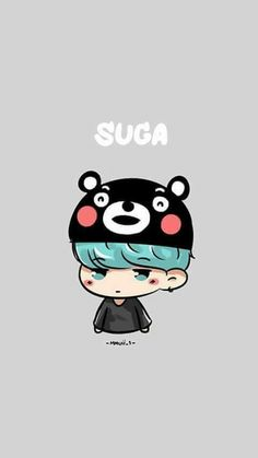 Yoongi | BTS FanArt | so cute ahhhh~
