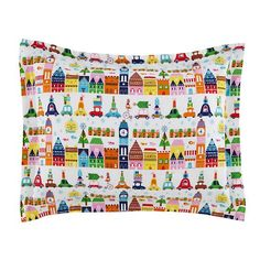 Hit the Town Kids Bedding | The Land of Nod