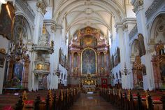 Michaelerkirche ble bygget 1635-1677.Foto: Ana Lucia Marcos ©