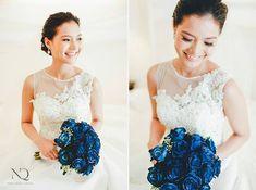 bridal bouquet by dangwa florist  wedding bouquet, bridal bouquet, wedding, flower arrangement, blue bouquet