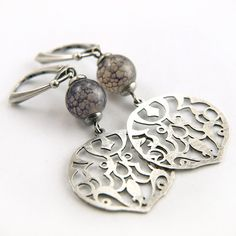 2D lace 0003   exclusive sterling silver modern by BartoszCiba, $109.00