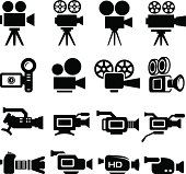 Film Camera Old and New black & white icon set Film Camera Old and New black & white icon set royalty-free stock vector art The post Film Camera Old and New black & white icon set appeared first on Film. Camera Film Tattoo, Camera Tattoos, Camera Logo, Camera Icon, Camera Illustration, Cinema Camera, Movie Camera, Sony Camera, Ankle Tattoo Small