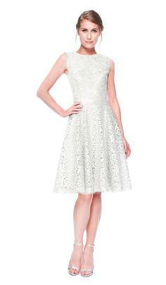 Tadashi Shoji Vestido Metalizado em linha A   Chic by Choice   Aluguer de vestidos de Designers Internacionais
