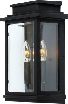 View the Artcraft Lighting AC8391BK Fremont 2 Light Outdoor Wall Lantern at LightingDirect.com.